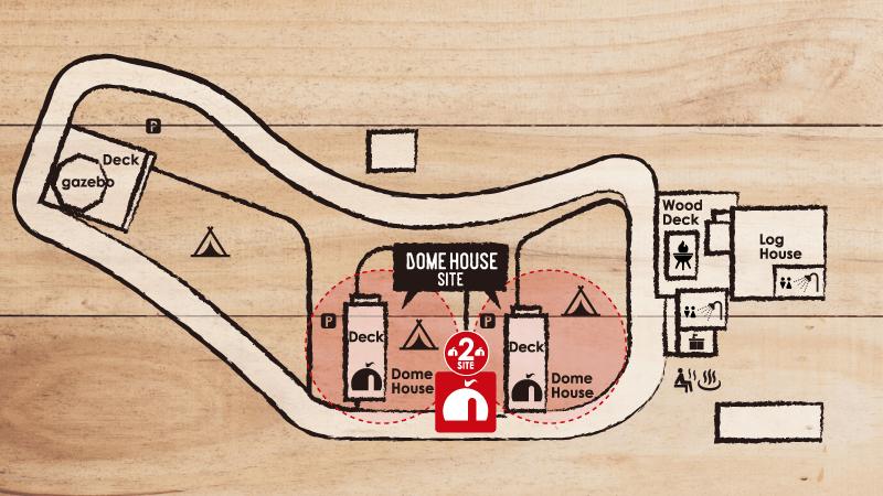 ドームハウスサイト